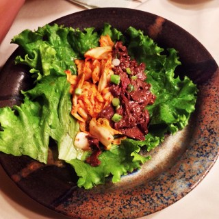 Korean-inspired Lettuce Wraps