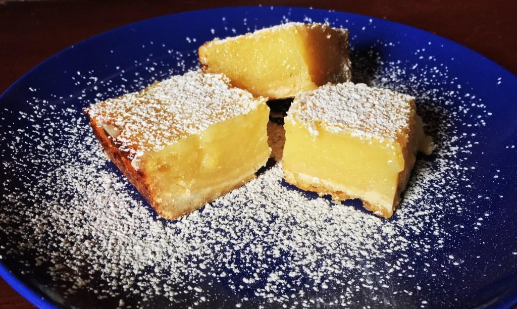 Ina's lemon bars featured
