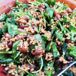 Martha Stewart's Farro and Roasted Grape Salad