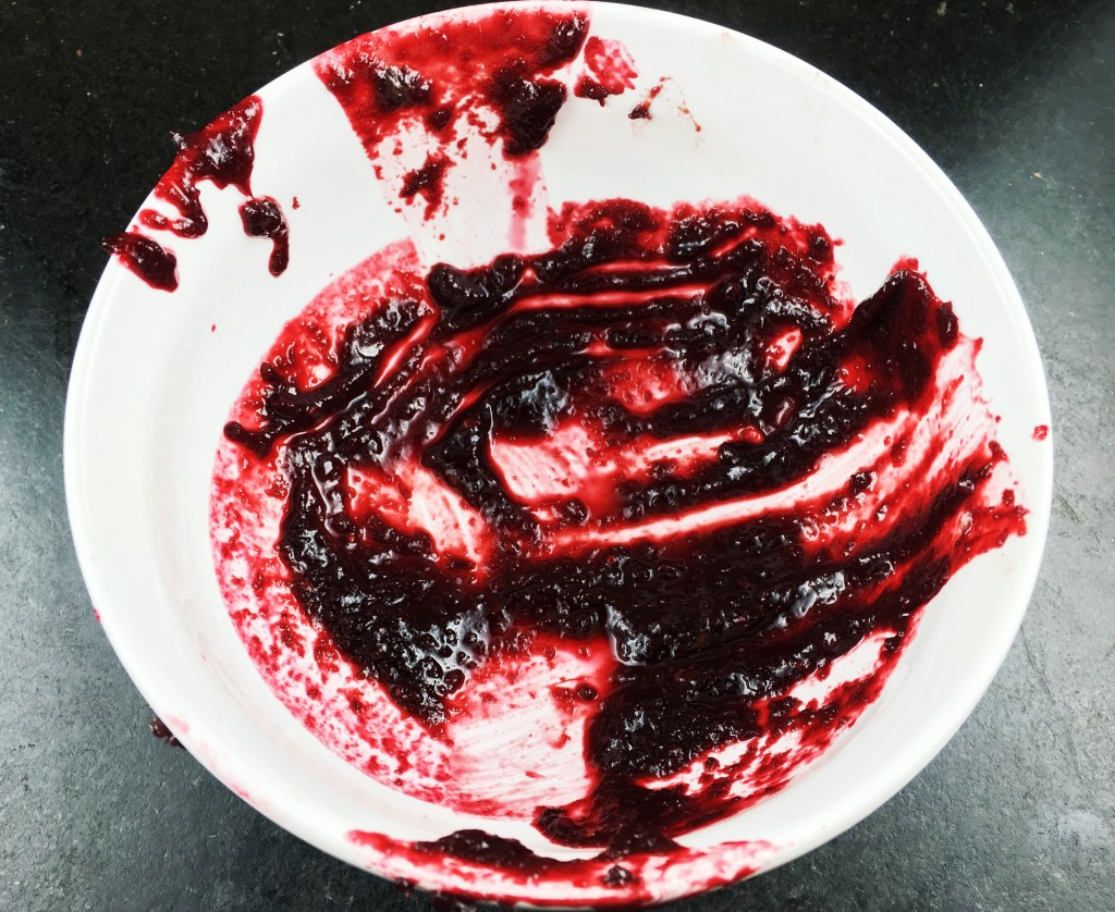 Spicy Blackberry Barbecue Sauce