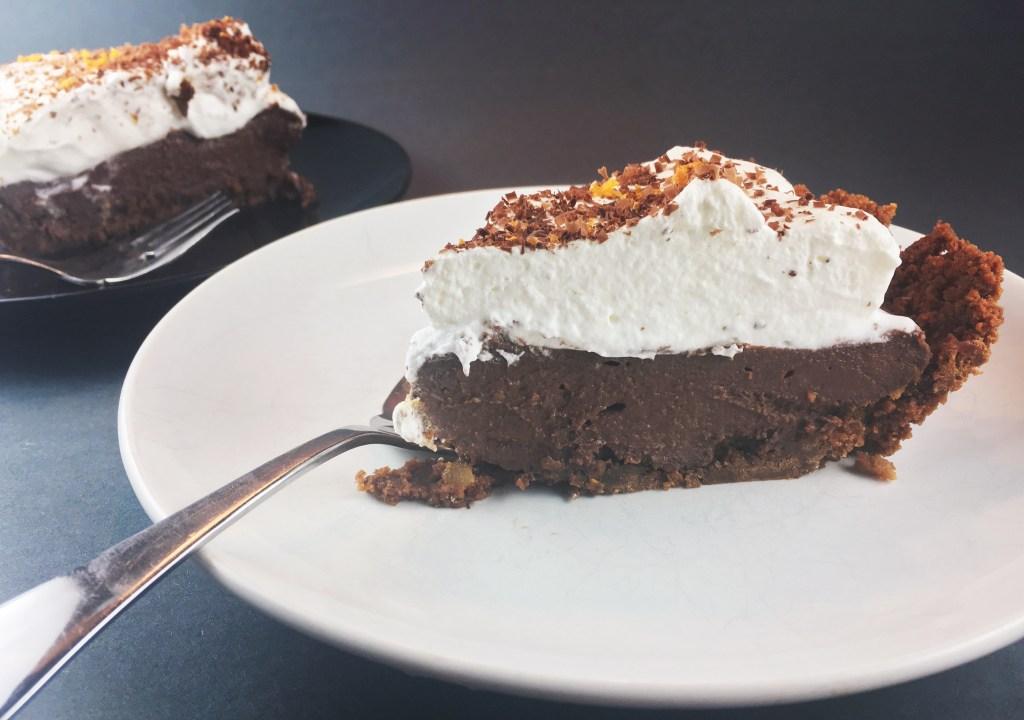 Chocolate-Orange Pie in Gingersnap Crust Recipe