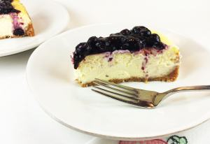 Lemon Cheesecake Blueberry Topping