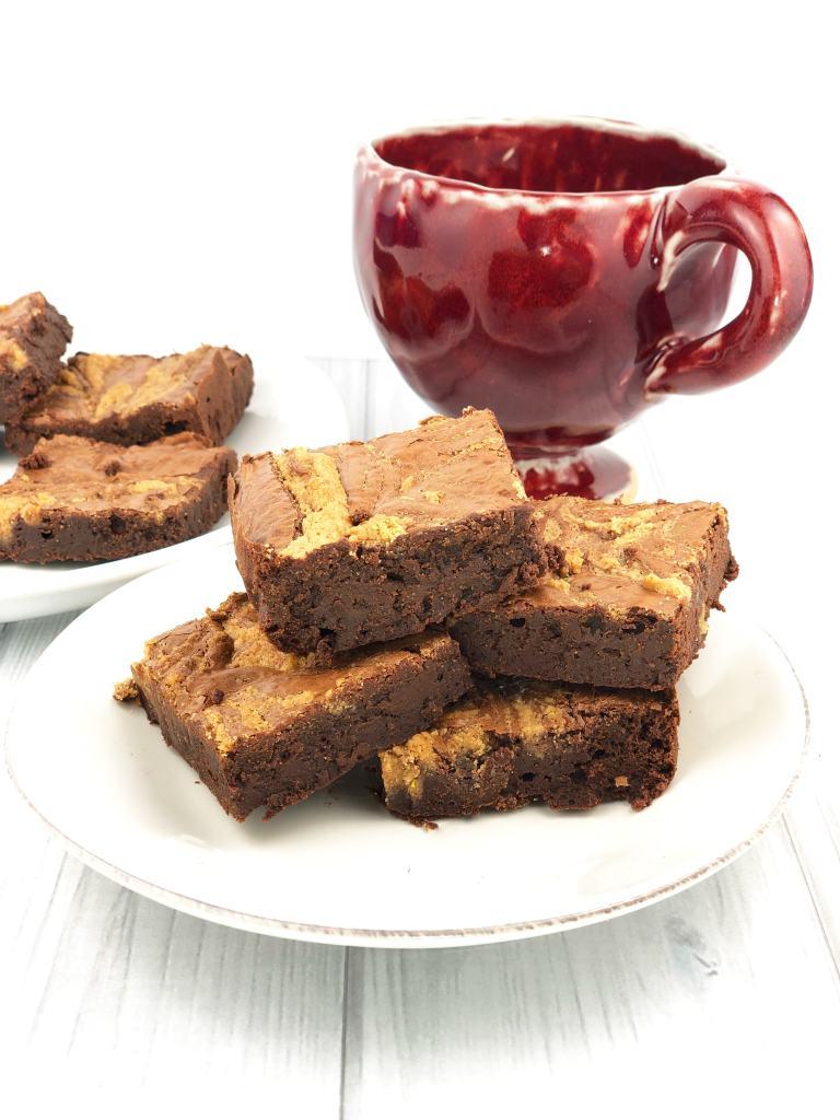 Gluten Free Chocolate Tahini Brownies