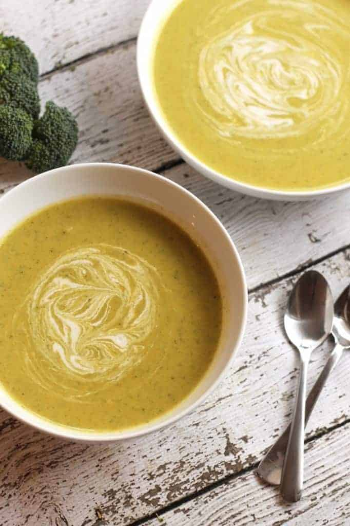 Cream Of Broccoli Soup from Hummusapien