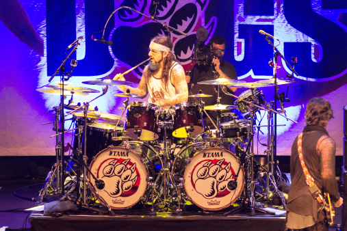 04 The Winery Dogs @ Teatro Cariola 2016