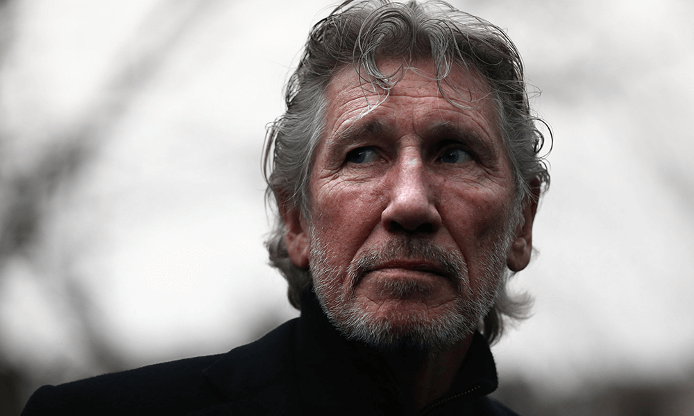 Roger Waters recita poema por causa palestina