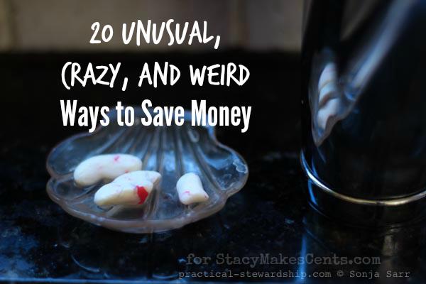 20 Unusual, Crazy, and Weird Ways to Save Money