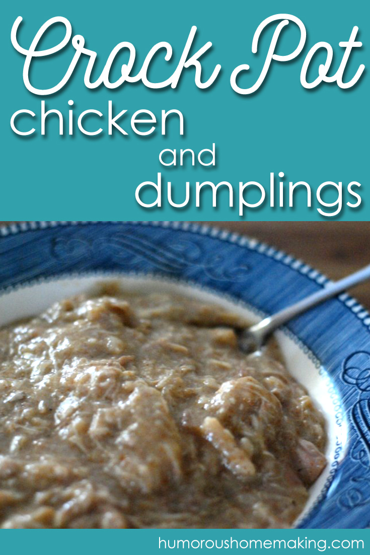 If your husband doesn't love you after eating these Crockpot Chicken and Dumplings, then ditch him and eat the dumplings yourself! But don't worry, he'll love you and these dumplings.