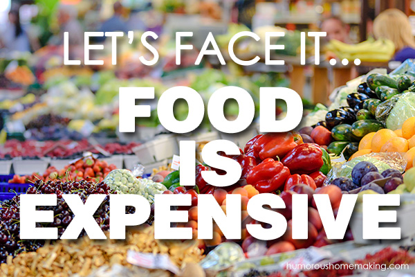 food is expensive