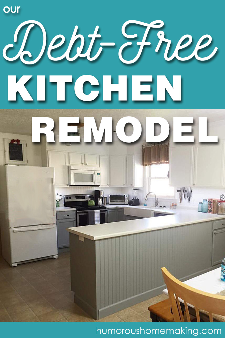 We remodeled our kitchen and paid cash! Find out what we saved on and what we splurged on. Our debt free remodel only cost a little over $3000!