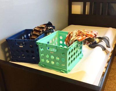clothing crates