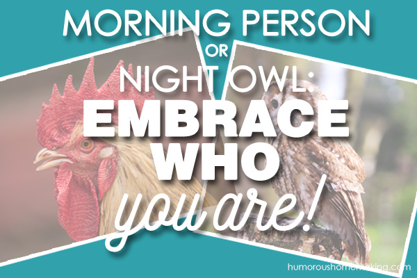 morning person night owl