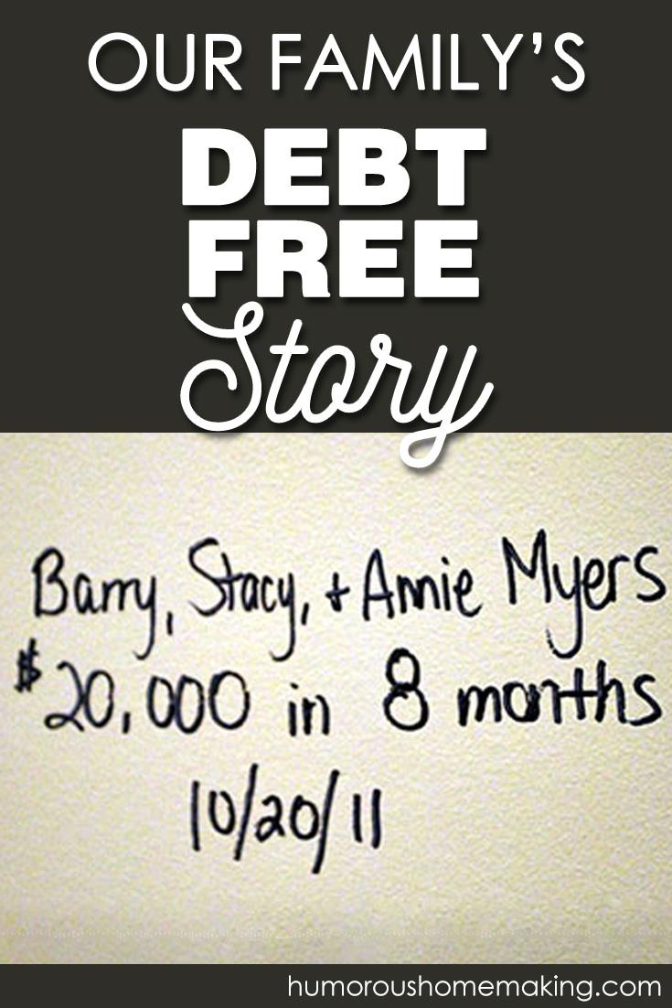 debt-free story