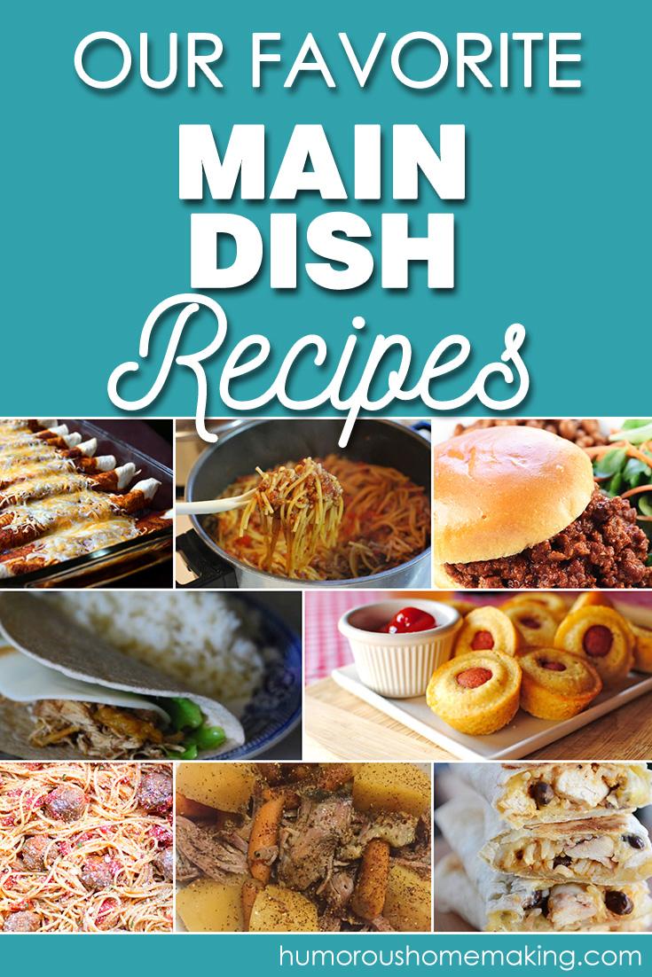 favorite main dish recipes
