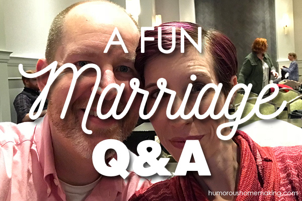 marriage q and a