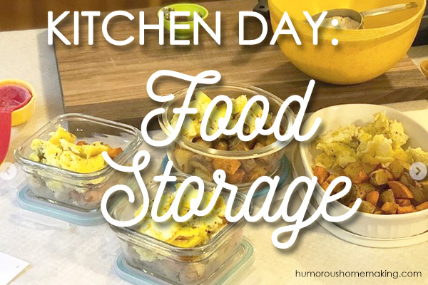 food storage options