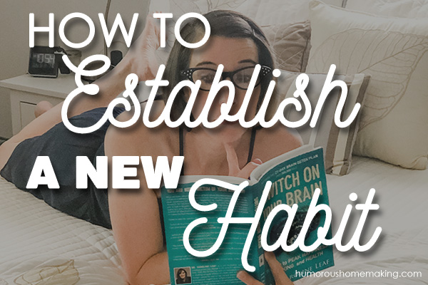 establish a new habit