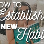 establish a new habit