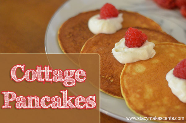 Cottage Pancakes. These grain free pancakes use almond flour and coconut flour along with my secret ingredient to make the most delicious breakfast evah!