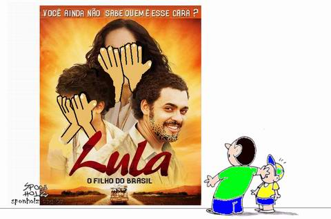 Filme do Lula na TV
