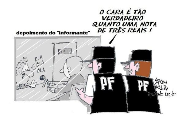 Depoimento do Lula na PF