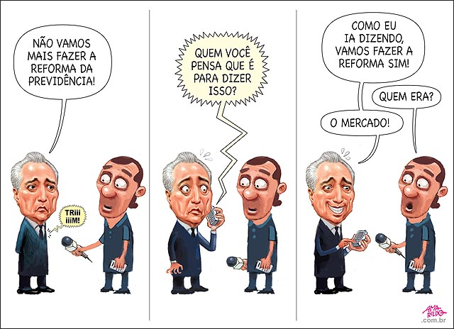 Temer escravo do Mercado