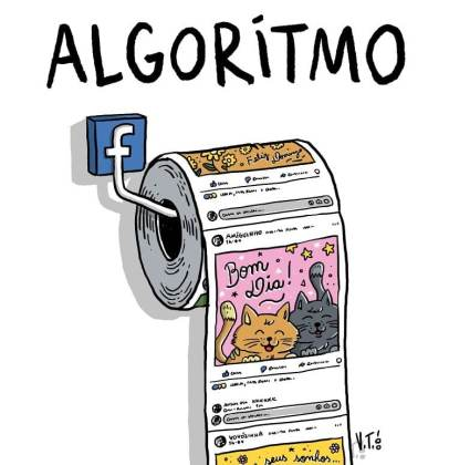 Mudança no Algoritimo do Facebook Censura a esquerda
