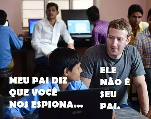 Mark Zuckerberg Meme Espionagem