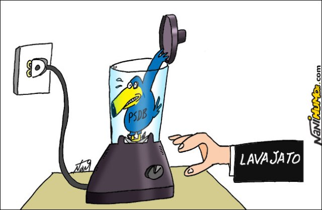 Lava-jato na cola do PSDB