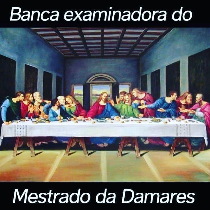Meme do Mestrado da Damares Alves