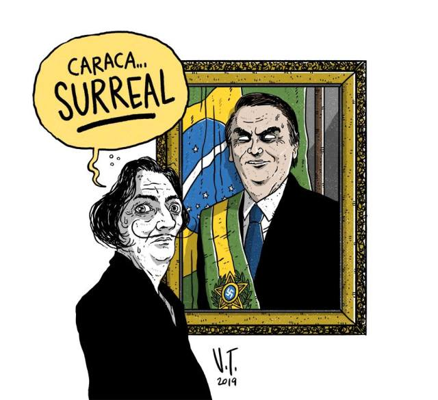 Bolsonaro surreal