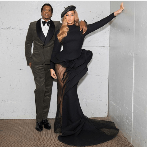 Beyonce grammy awards outfit 2018 3