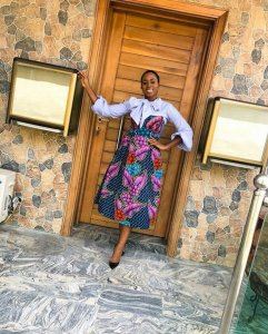 Ozinna anumudu ankara office gown