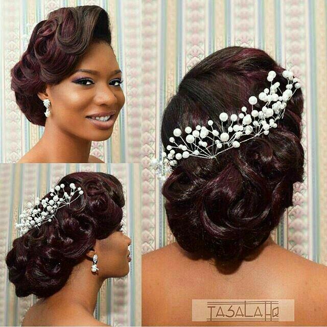 Wedding Updos Black