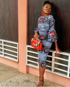 ankara office gowns 2019