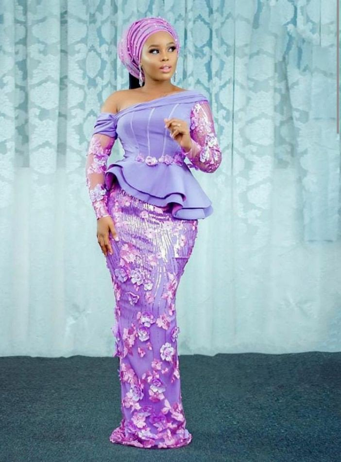 Aso ebi styles for young girls