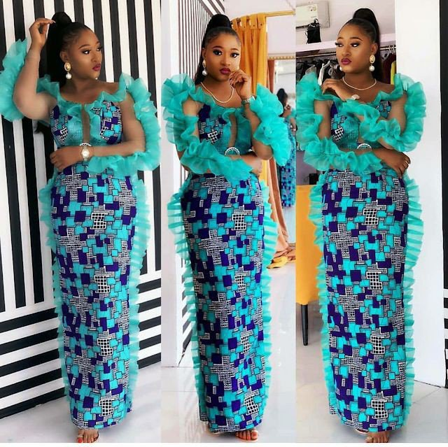 Latest way to sew ankara