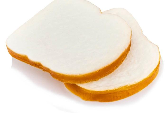 White Bread Slices Pk Of 2
