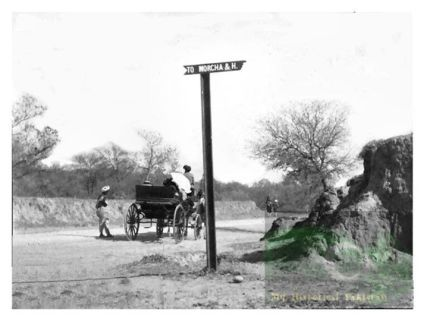 G.T Road leading from #Rawalpindi to #Lahore in 1899