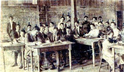 public school-19th century classroom