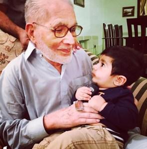 shahid father