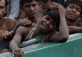 روہنگیا مسلمانوں کے 2600 مکانات نذر آتش: ہزاروں بے گھر