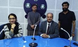 Javed Khan Jadoon in PBC VIDEO STREAMING NEWS STUDIO
