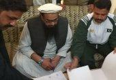 حافظ سعید کو دس ماہ کی نظر بندی کے بعد رہائی مل گئی