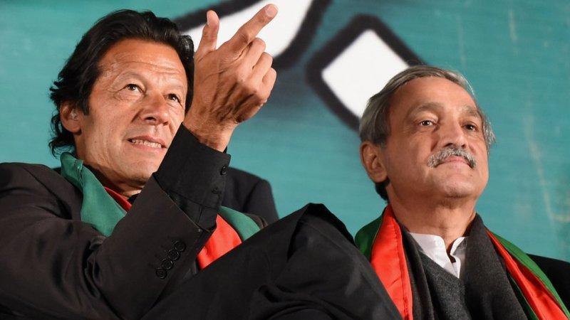 جہانگیر ترین اور عمران خان