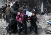 شام: باغیوں کے زیرانتظام محصور علاقے میں بمباری، 'درجنوں شہری ہلاک'