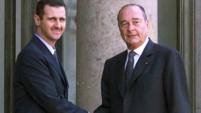 سنہ 2001 میں بشار الاسد نے فرانسیسی صدر یاک شراک سے یہ ایوارڈ وصول کیا تھا
