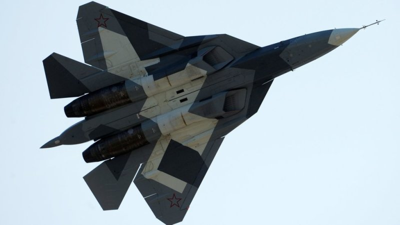 Russian stealth fighter, 2011