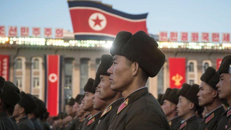شمالی کوریا سپاہی