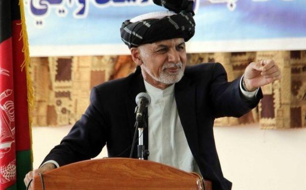 افغان صدر اشرف غنی